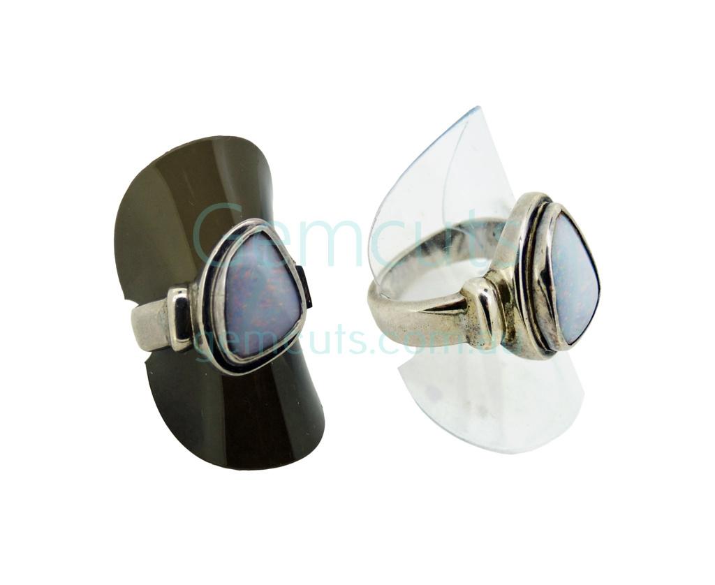 Plastic Folding Ring Holder Pack Of 100