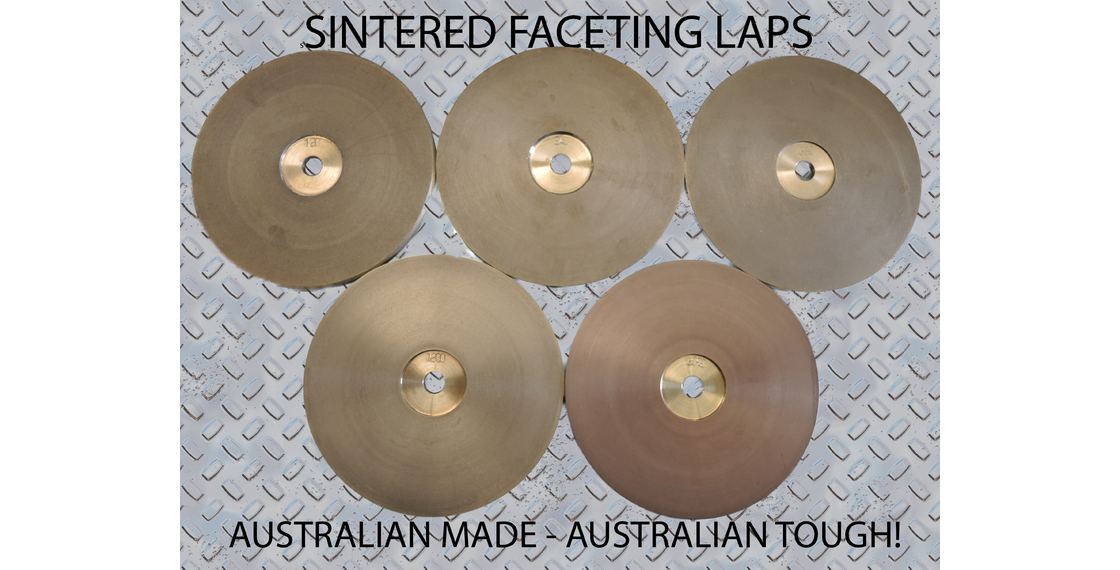Sintered Faceting Laps