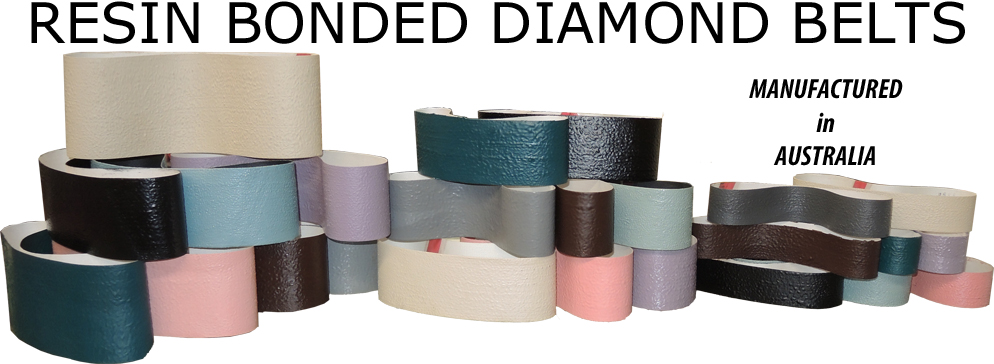 Resin Bonded Diamond Belts