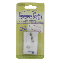 Findings Forms Oval Ear Wire Jig