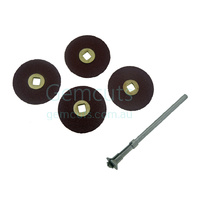 Adalox Brass Centre 3/4 Inch Discs (19mm)