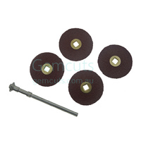 Adalox Brass Centre 7/8 Inch Discs (22mm)
