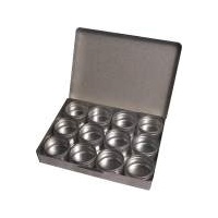 Aluminium Gemstone Storage Box Small
