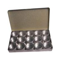 Aluminium Gemstone Storage Box Medium