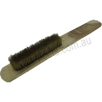 Medium Brass Brush - 5 Rows