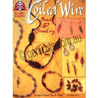 Coiled Wire Beads & Jewelry