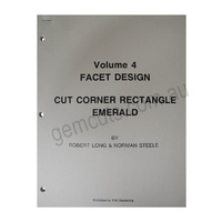 Facet Design Volume 4 - Cut Corner Rectangle Emerald