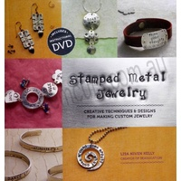 Stamped Metal Jewelry - Lisa Niven Kelly (Book and DVD)