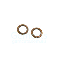 Antique Copper Colour Jump Ring ID 3.6mm