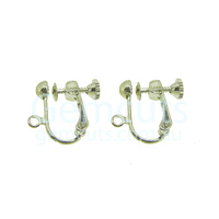 Adjustable Screw-Back Clip-On Earring Pair