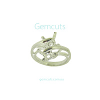 Adjustable Ring Jewellery Setting for Stones