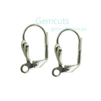 Fancy Lever-Back Ear Wire Pair