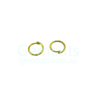 Gold Colour Jump Ring ID 3.4mm