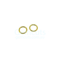 Gold Colour Jump Ring ID 4.4mm