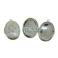 Locket Pendant - Silver Colour