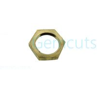 1/4 Inch BSP Brass Hex Nut