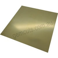 Brass Stamping Blank Sheet 150mm x 150mm