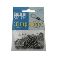 Crimp Tubes 2.5mm - Black Oxide