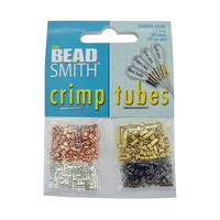 Crimp Tubes 2mm Assorted Colours