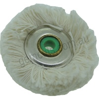 Cotton Mop Buff for Jewellers Lathe 50mm