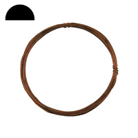 Copper Wire - Half Round