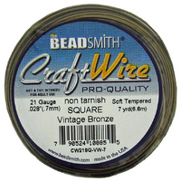 Craft Wire 21GA Square