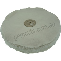 Loose Cotton Polishing Wheel - 100mm x 50 Fold