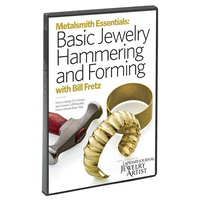 Metalsmith Essentials: Basic Jewelry Hammering and Forming DVD