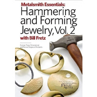 Metalsmith Essentials: Hammering and Forming Jewelry, Volume 2 DVD