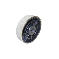 Diamond Plated Wheel 150mm x 38mm (6 Inch x 1.5 Inch)