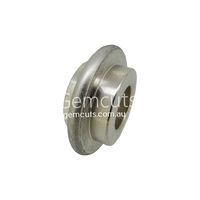 Convex Diamond Wheel 65mm x 6mm - 180 Grit