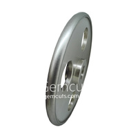 Convex Diamond Wheel 200mm x 12mm - 600 Grit