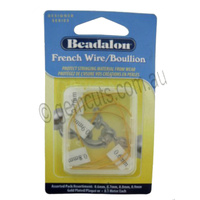 Beadalon French Wire/Boullion - Gold Plated