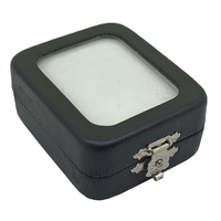 Glass Fronted Gemstone Box 53mm x 62mm