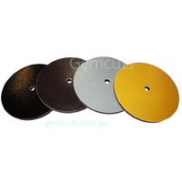 Magnetic Diamond Disks 150mm (6 Inch) - Set of 4 with 1/2 Inch Centre Hole