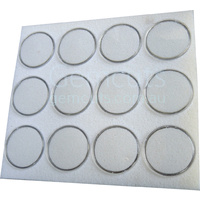 Gem Pods 45mm - White - Set of 12