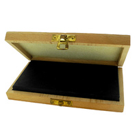 Gold Testing Stone In Wooden Case