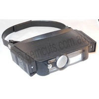 Head Loupes/Magnifiers (With 2 Led Lights)
