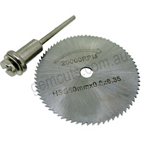HSS Mini Saw Blades for Rotary Tools
