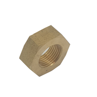 Hex Nut Steel 3/4 Inch Left Hand