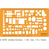 Architects Home Furniture Furniture 1:100