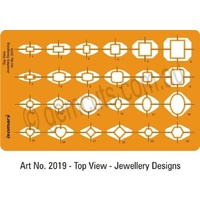 Jewellery Design Template - Ring Designs