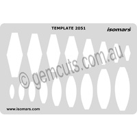 Metal Clay Design Template - Bails