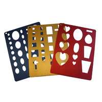 Gem Template Aluminium - Set of 3