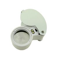Illuminated Jewellers Loupe 40x -25mm