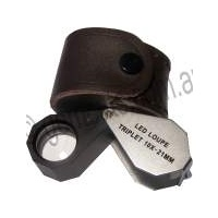 Jewellers Loupe Illuminated 10x - 21mm