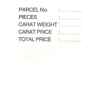Opal Pricing Cards White (Pack of 50)