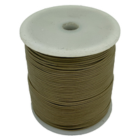 Leather Cord - Round - Beige - 1.5mm