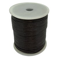 Leather Cord - Round - Brown - 1.5mm