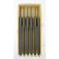 Micro Drill Bit Set 0.5mm (2.35mm Shaft)